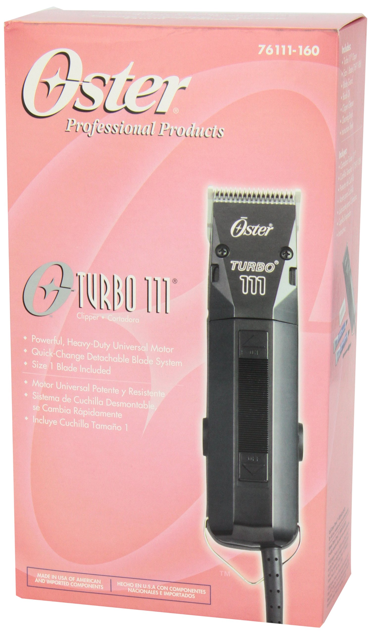 Oster Professional Turbo 111 Hair Clipper by Oster (Image #5)