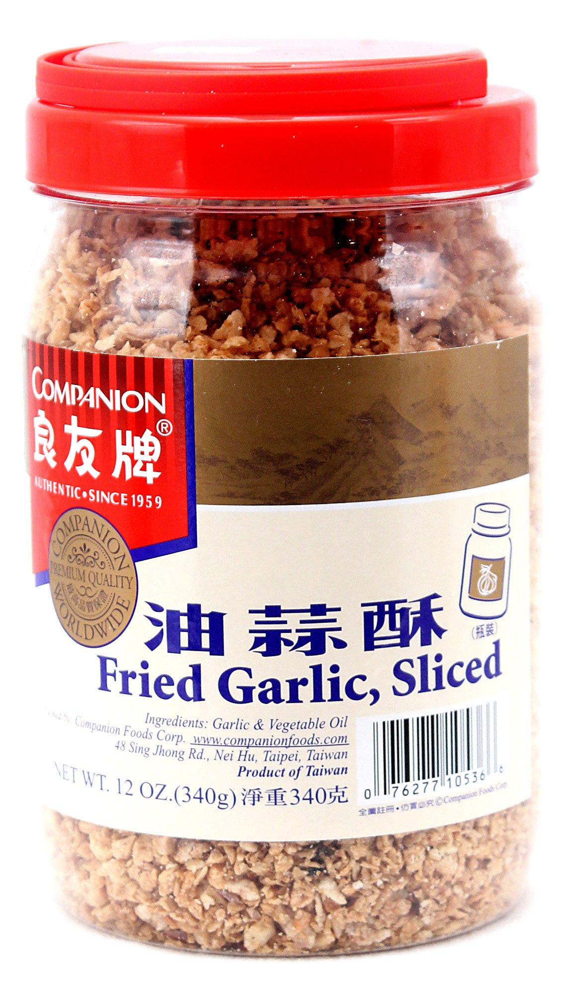 Companion Fried Garlic Sliced 340g