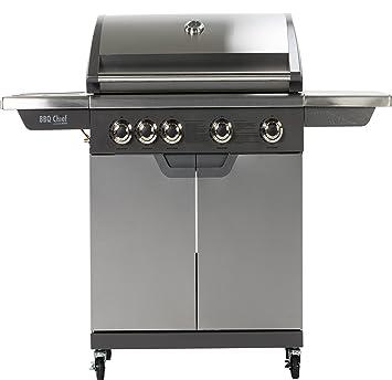 Premium Gas barbacoa Maxxus® BBQ Chief 8.0, 4 Principal Grabadora (14kw),