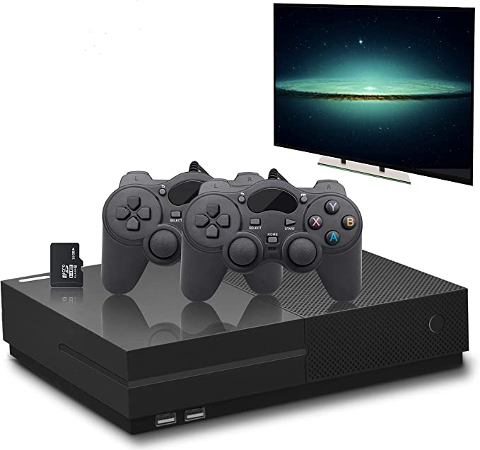 ADMOS Drahtlose Retro-Spielekonsole Mini-TV-Videospiel-Player Tragbare Handheld-Spielekonsole