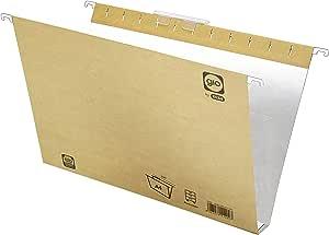 Elba Gio 400021941 - Caja de 25 carpetas colgantes para cajón, A4, bicolor: Amazon.es: Oficina y papelería