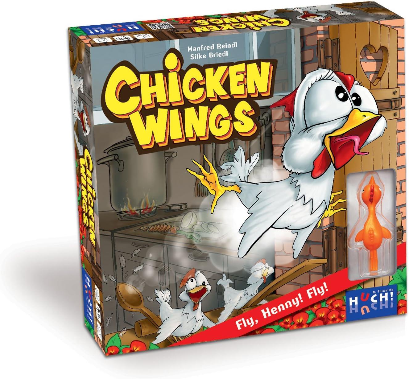 Huch & Friends 879431 – Chicken Wings, Juego de habilidad , color/modelo surtido: Amazon.es: Juguetes y juegos