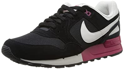 huge discount afd4f c9a9e NIKE mens Air Pegasus 89 Trainer - Black (BlackLight Bone-Fuchsia