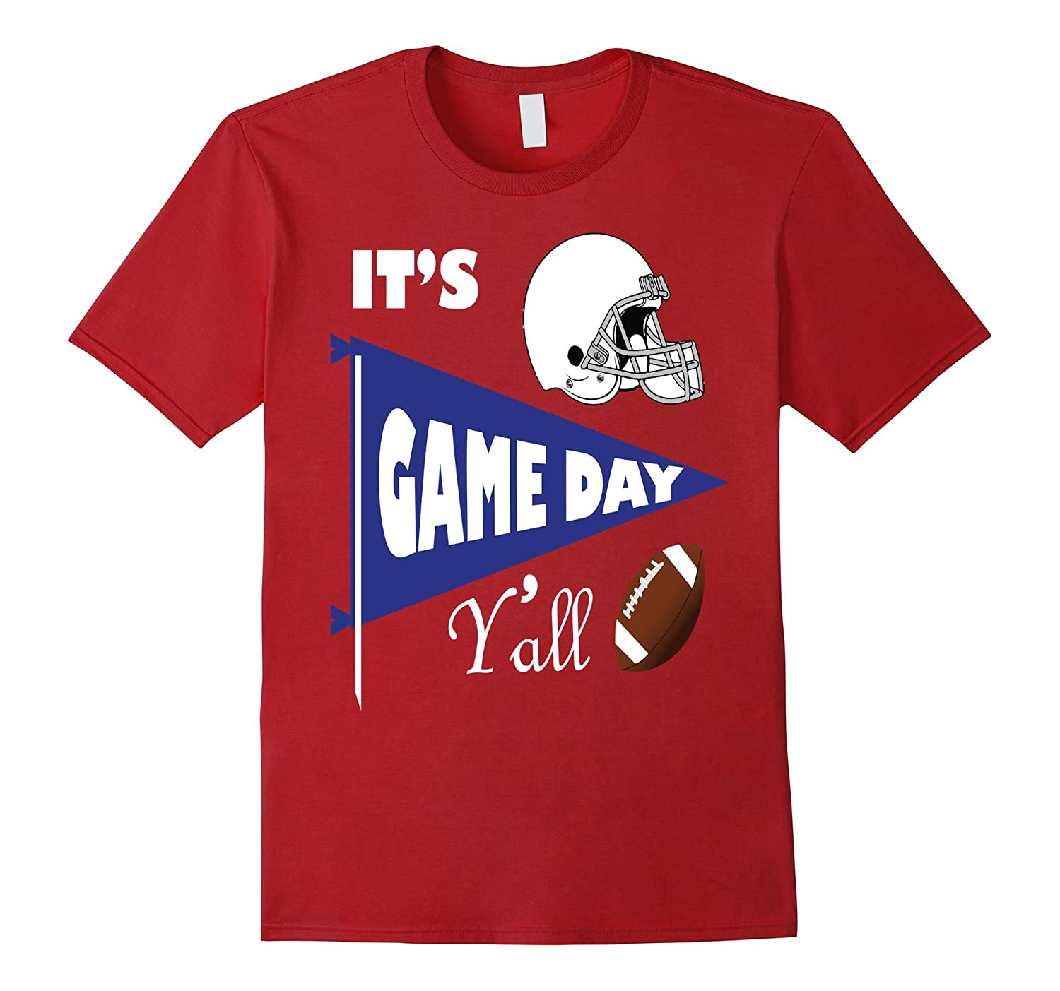 It's Game Day Y'all Vintage T-Shirt | For the Southern Fan-FL
