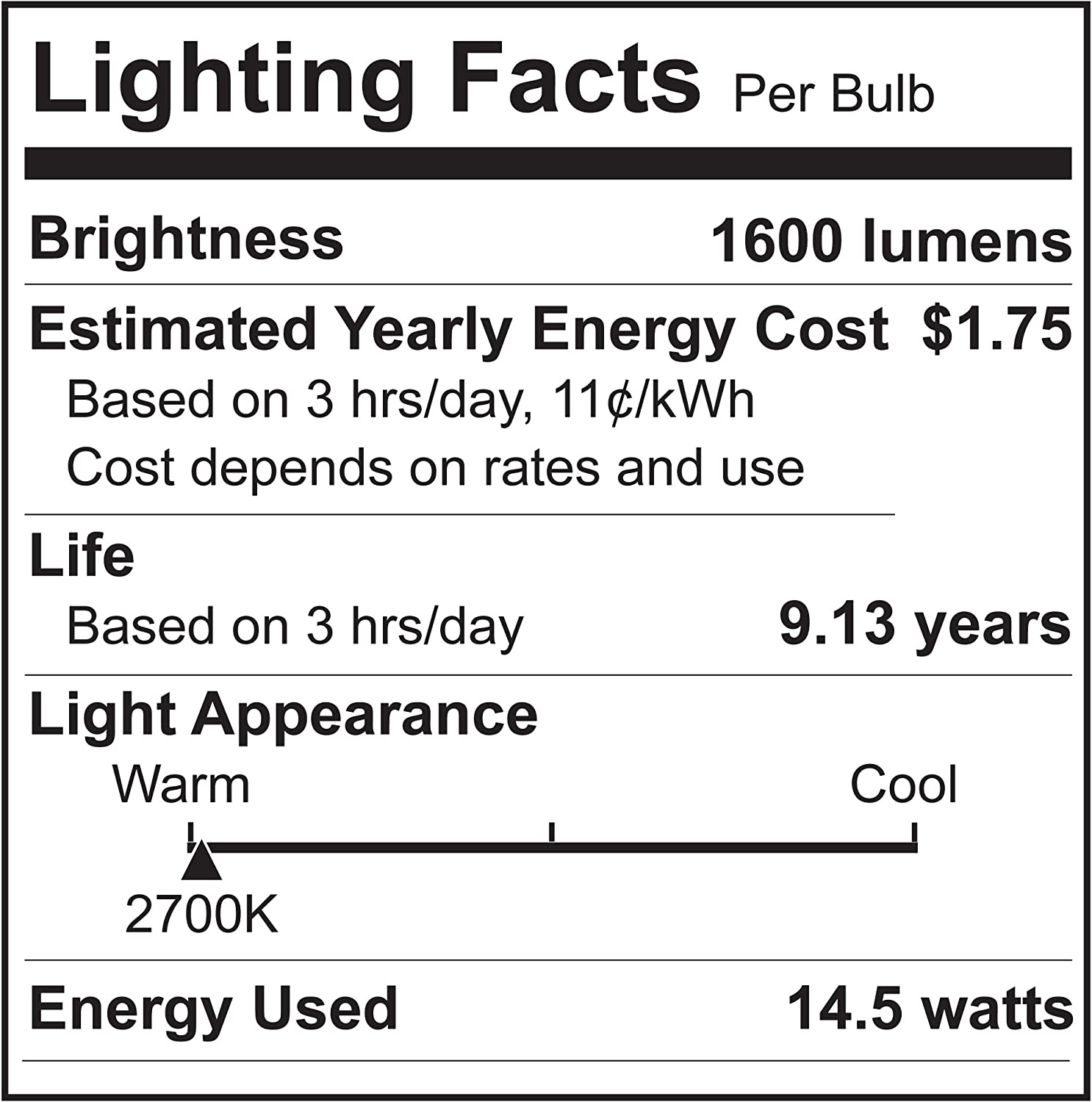 60W Equivalent 9W UL Listed 16 Pack A19 LED Light Bulb 800Lumens Non-Dimmable AmeriLuck Soft White 2700k Omni-Directional