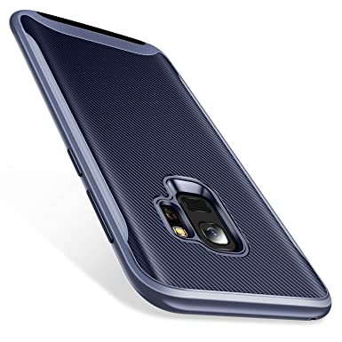 new concept a0138 a2d19 TORRAS Samsung Galaxy S9 Case, Shock Absorption Protection Hybrid Dual  Layer Full Body Protective Case Silicone Shockproof Bumper Cover Compatible  ...