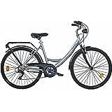 COPPI Besana, City Bike Donna, Argento, M