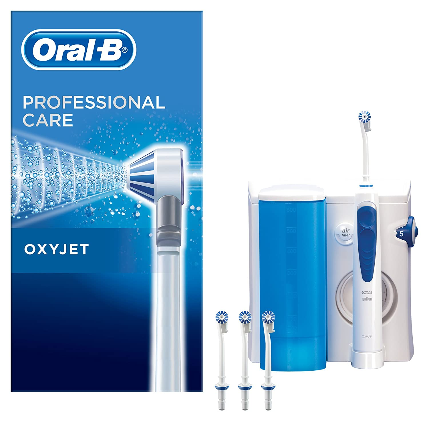 Braun Oral-B Oxyjet MD20 Professional Care Oral Shower 100-240 Volt Made in Germany ORIGINAL