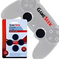 PS4 Thumb Grips 4-Pack (for PlayStation 4 controllers)
