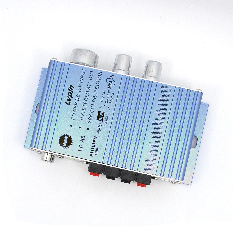 Earlybird Savings 12v Audio Amplifier Mini Hi Fi Bass Treble Circuit Power Car Motorbike