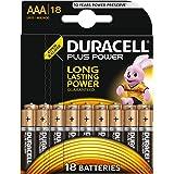 Duracell Plus Power Typ AAA Alkaline Batterien, 18er Pack