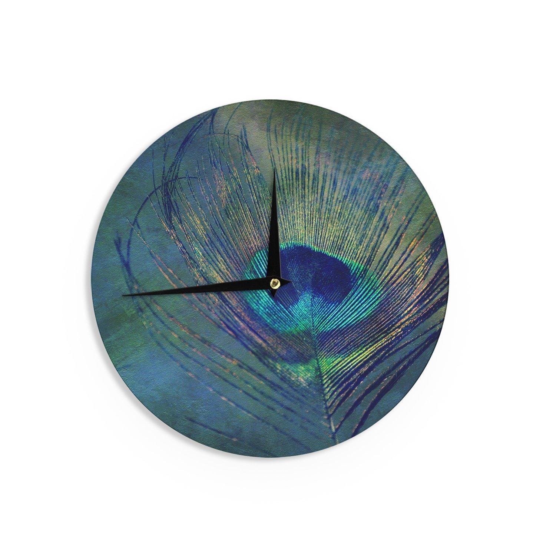 12-Inch Kess InHouse Robin Dickinson Plume Wall Clock