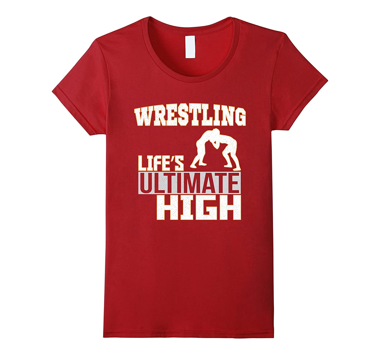 Wrestling Life's Ultimate High Sport T-Shirt