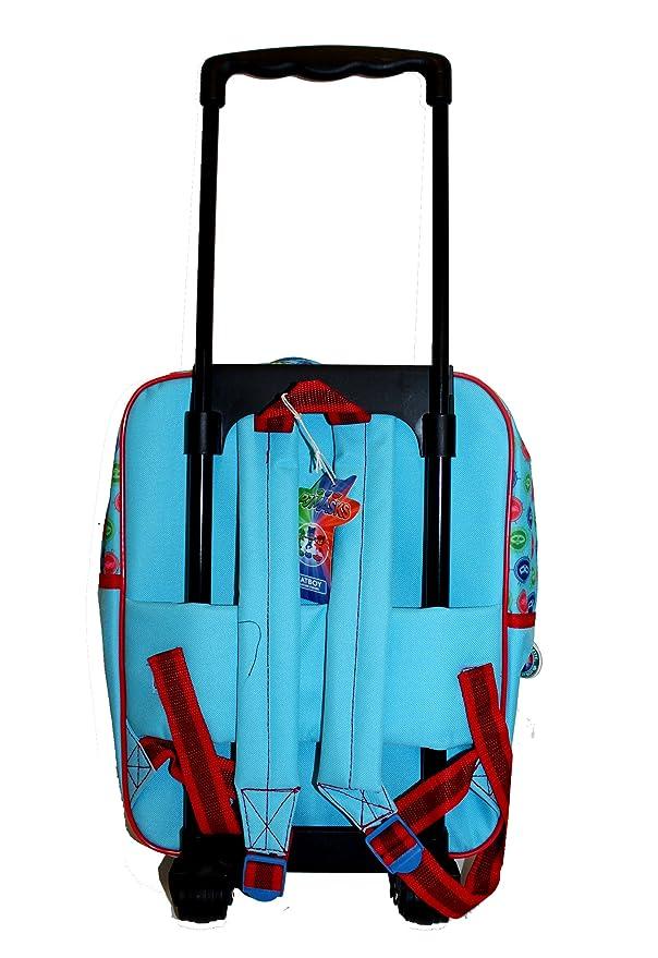 Amazon.com: PJ Masks 610-8429 - Mochila con carrito (13.8 in ...