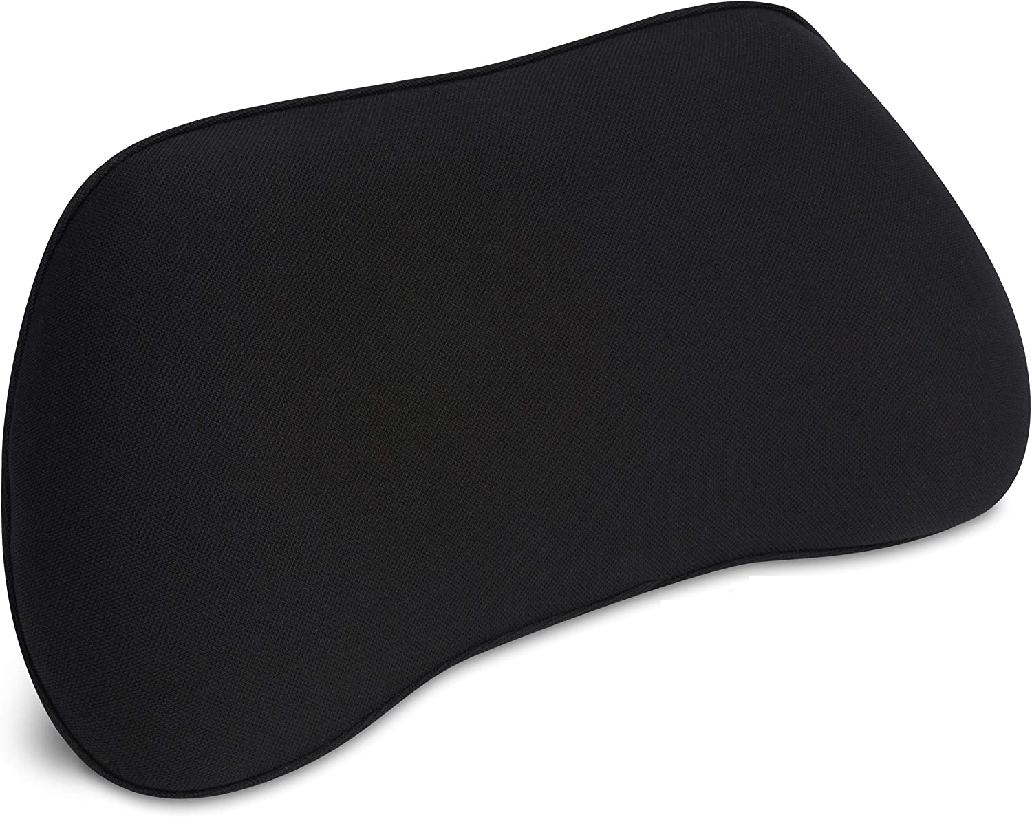 Office Chair Back Support Pillow RS12 RelaxSupport – Lumbar Cushion for Upper and Lower Back Pain Uses Special Patented Technology Has Unique Lateral Convex Orthopedic Shape for a Pain Free Back
