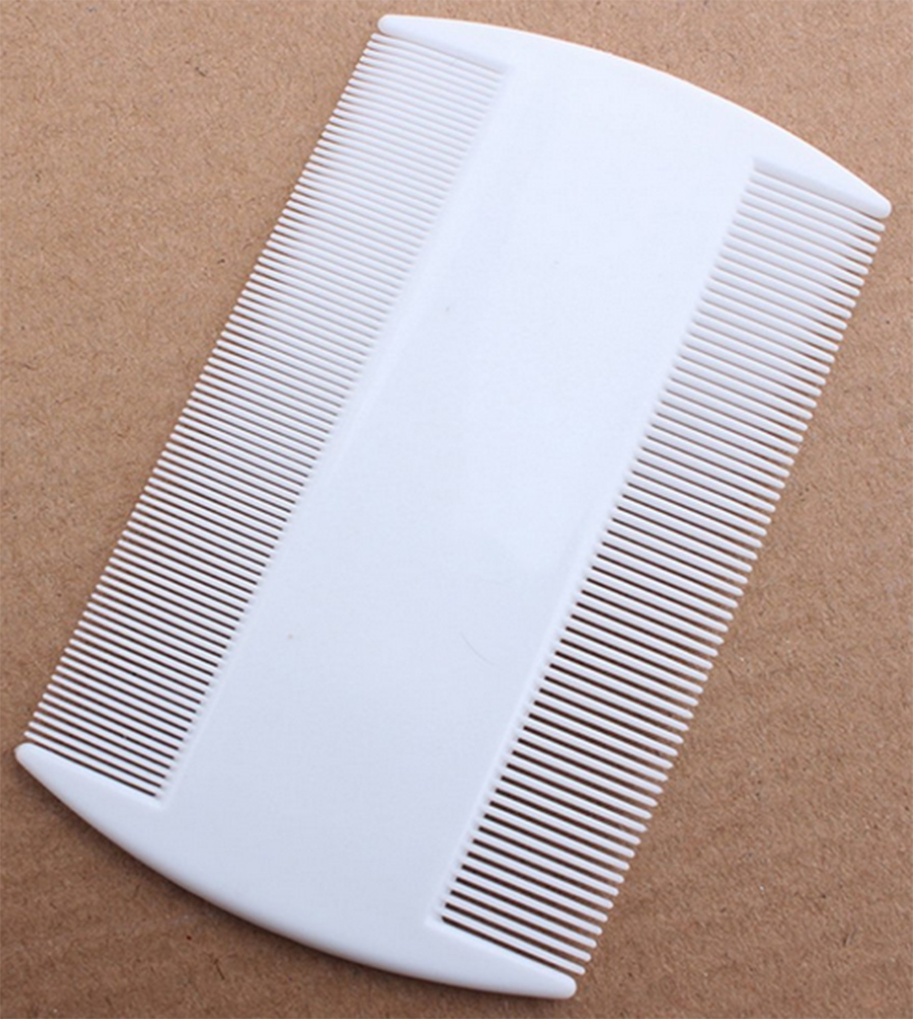 nobrand Nit Comb, Double Sided, Removes Nits, Lice and Fleas and Eggs from Short Haired Pets