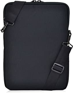 "product image for Turtleback Universal Laptop and iPad Pro 12.9 Pouch Bag with Shoulder Strap - Fits Devices up to 13"" Inch - (Black), Made in USA"
