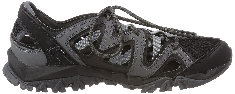 Merrell Women's Tetrex Crest Wrap Sport Sandal B071VTVHFP 6.5 B(M) US|Black
