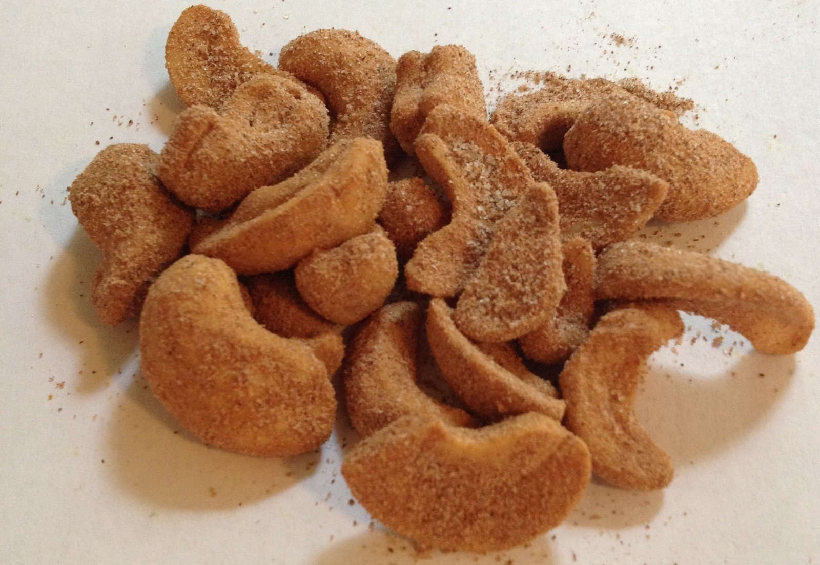 Cashews Cinnamon and Sugar