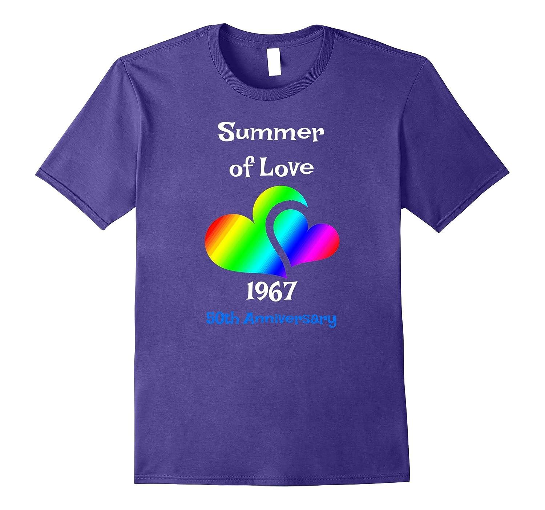 Summer of Love T-Shirt 1967 Hippie Rock Music Tee Shirt-CD