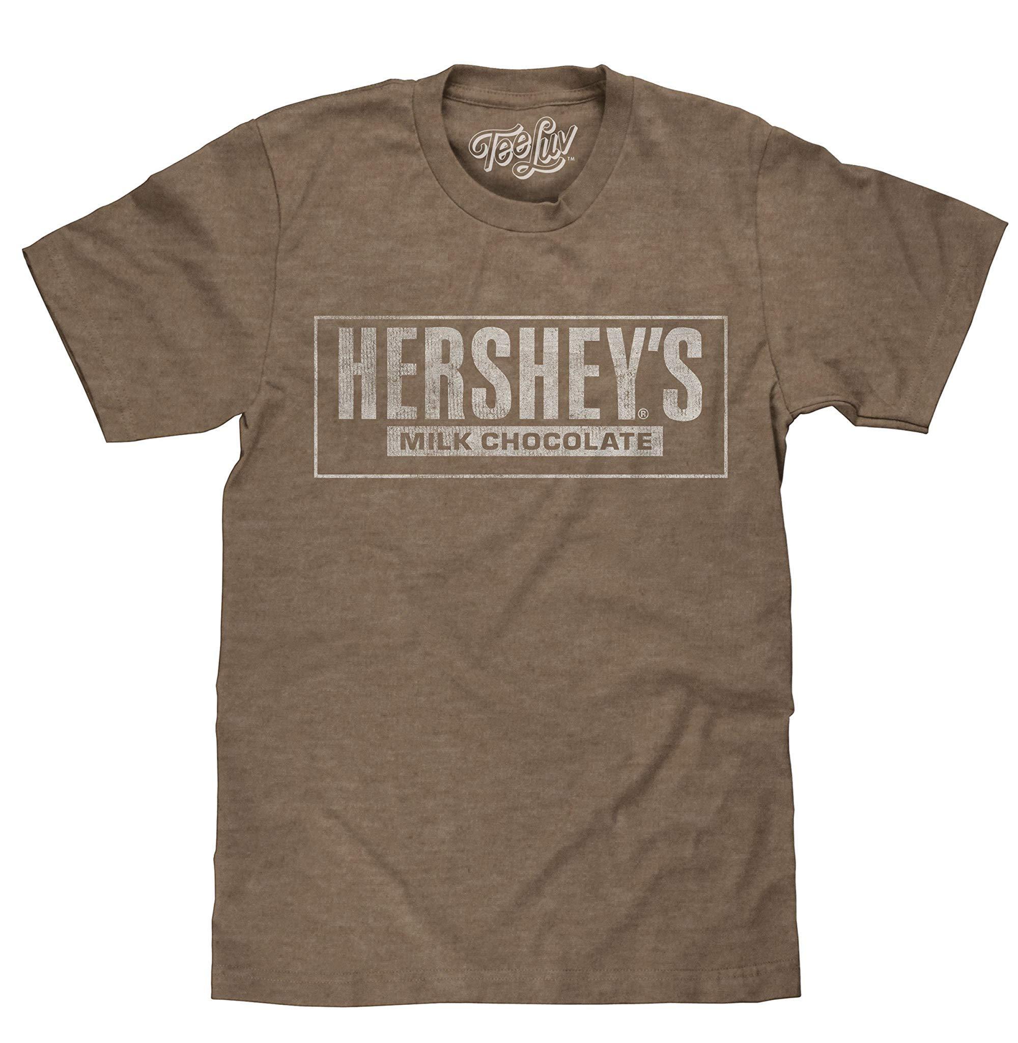 Hersheys Tshirt Hersheys Milk Chocolate Logo Shirt