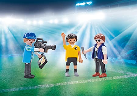Playmobil 9825 TV Team during Interview (Foil Packaging)