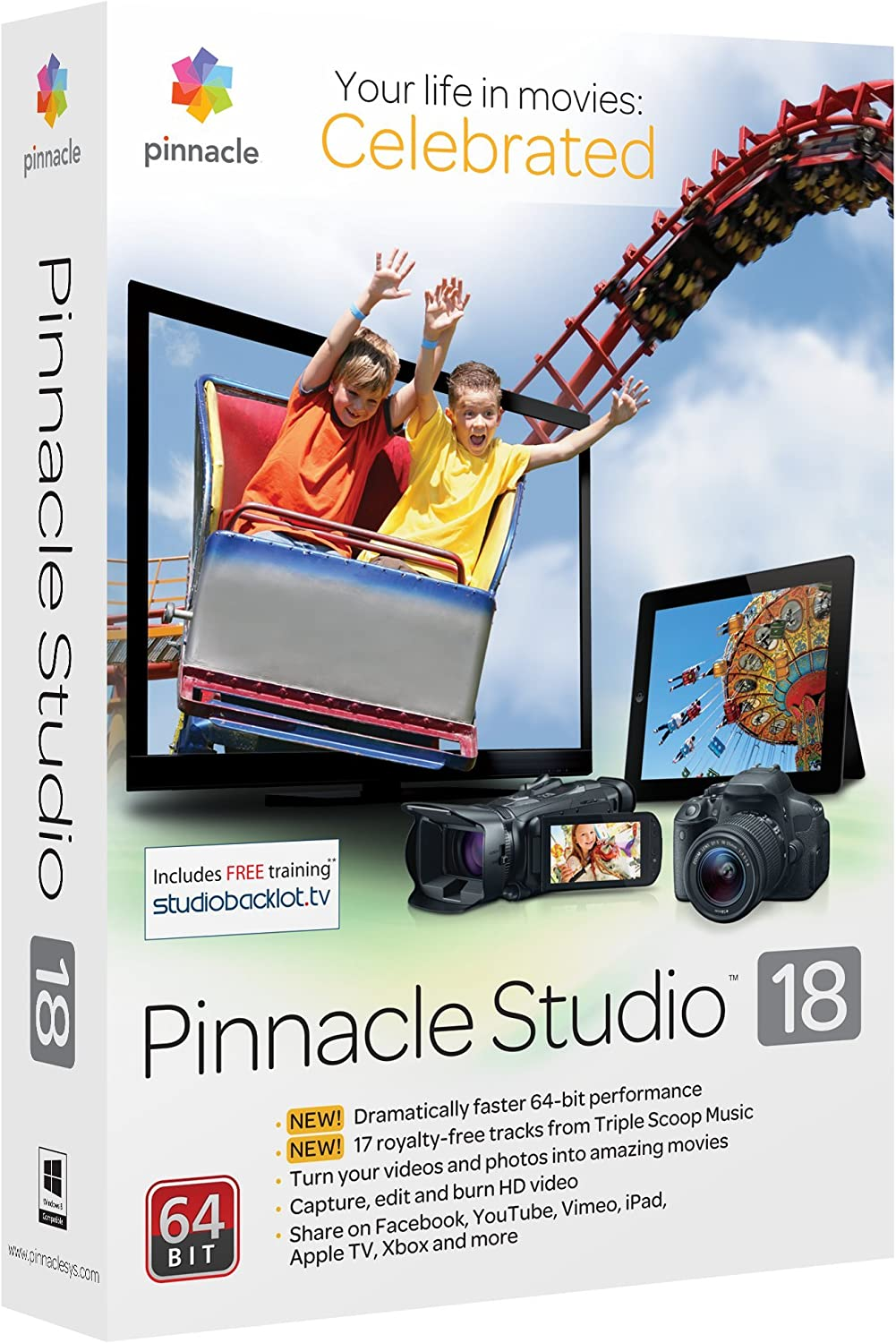 Buying Older Version of Pinnacle Studio Ultimate