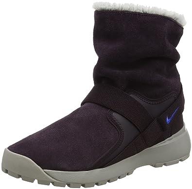 Nike Women s Sportswear Golkana Boot Port Wine Racer Blue Cobblestone Size  6.5 ... 1c7db6ceb