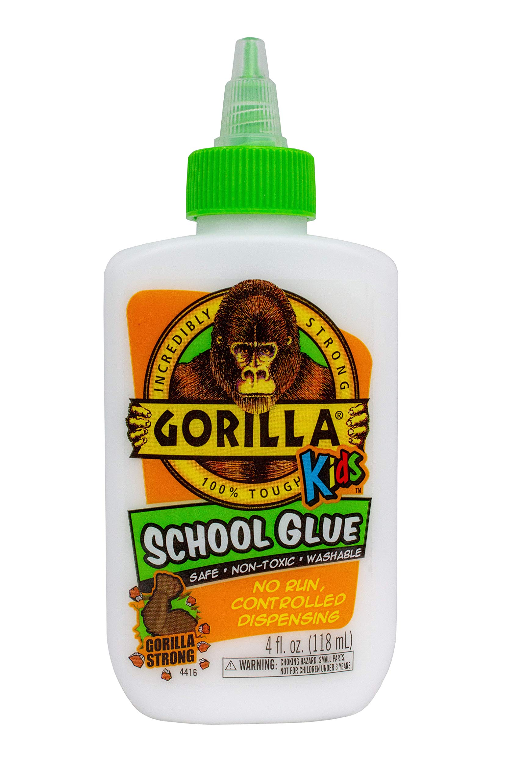 Gorilla 2754208 Liquid School Glue, 24 - Pack, White, Piece by Gorilla