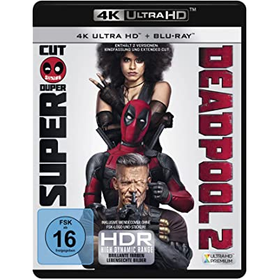Deadpool 2  (4K Ultra HD) (2 BR4K) (+2 BRs) [Alemania] [Blu-ray]