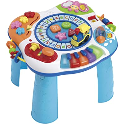 winfun Letter Train & Piano Activity Table: Toys & Games