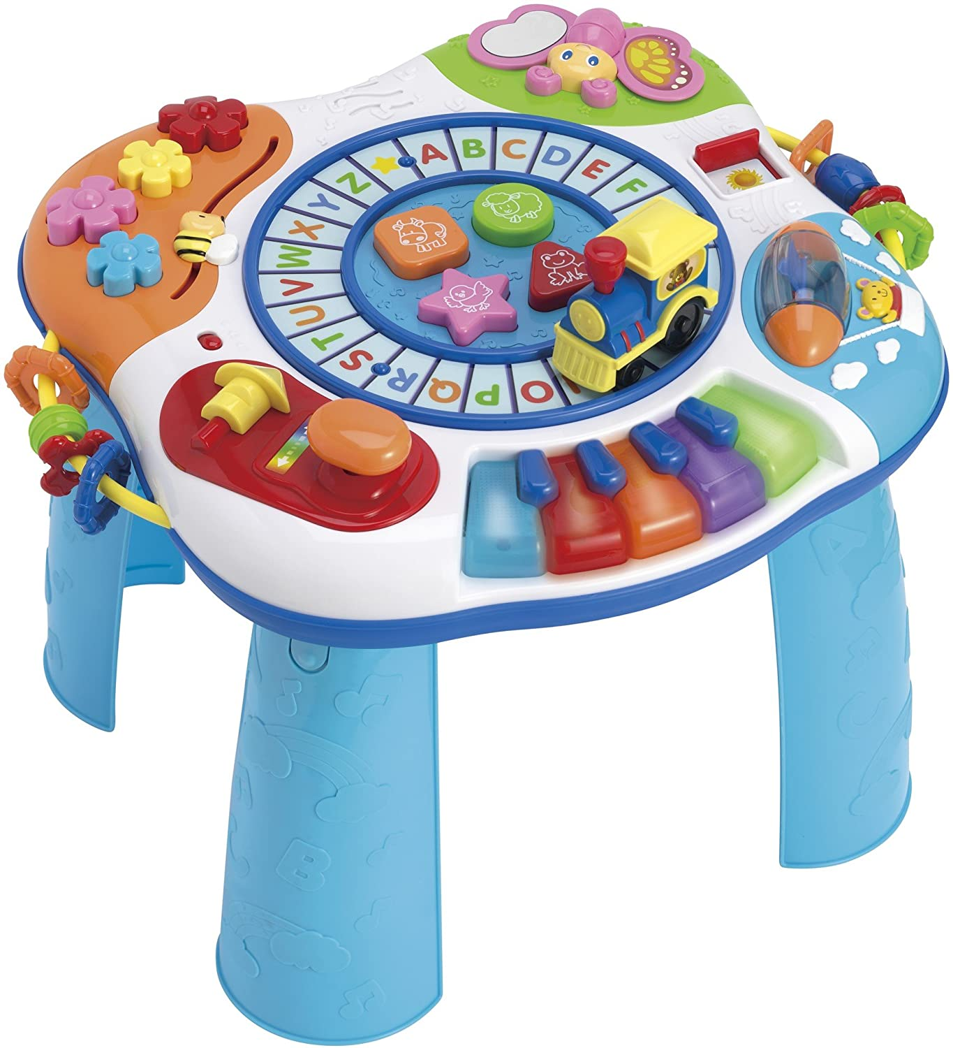 table and baby musical train free desk piano shipping discovering activity learning item letter