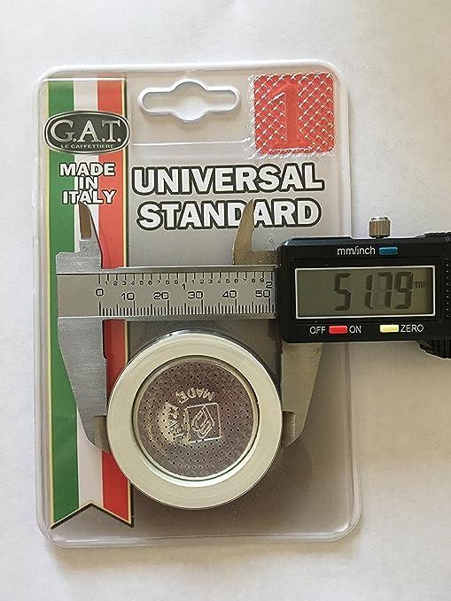 Amazon.com: GAT estufa cafetera de espresso piezas de ...