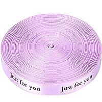 1 cm x 10 Yard lint voor cadeaupapier, speciaal voor jou Print diverse kleuren lint voor strikken, knutselen…