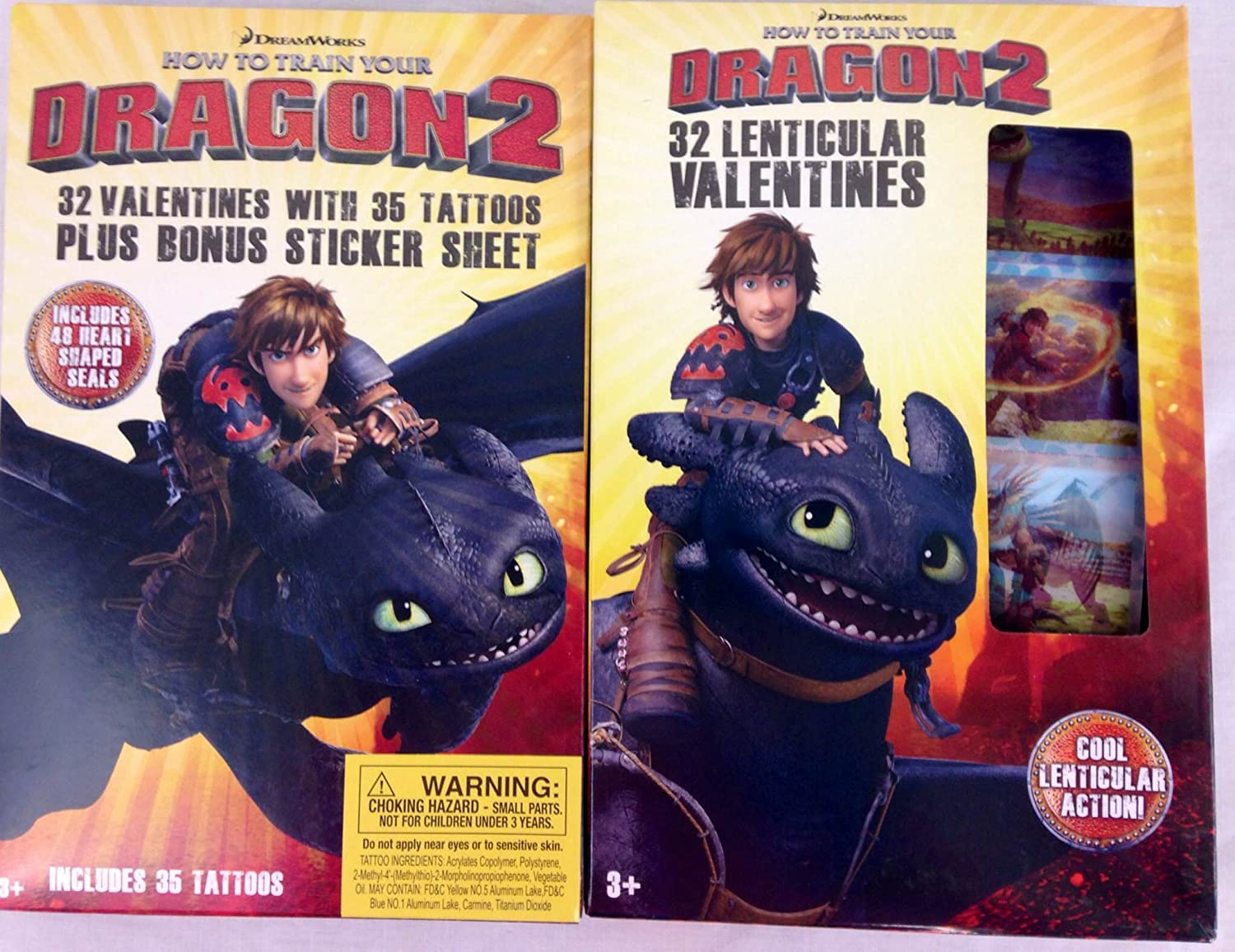 Amazon how to train your dragon 2 valentines cards 2 boxes amazon how to train your dragon 2 valentines cards 2 boxes toys games ccuart Choice Image
