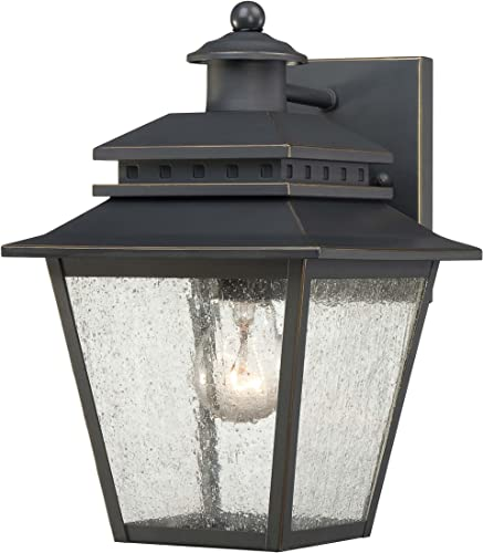 Quoizel CAN8407WB Carson 7-Inch Wide 1 Light Outdoor Wall Fixture
