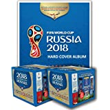 PANINI 2018 FIFA WORLD CUP RUSSIA HARD COVER ALBUM + 2 BOXES