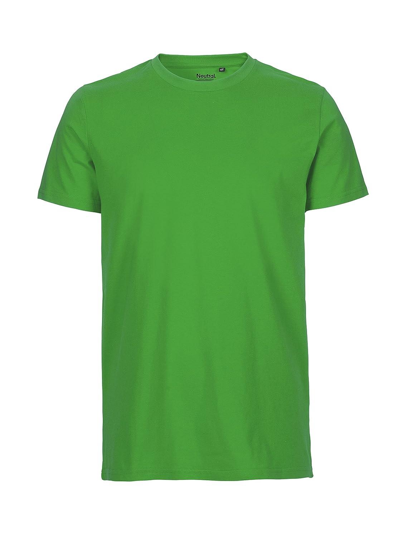 commercio equo e solidale taglia 3XL colore nero Neutral t-shirt in 100/% cotone biologico certificata Oeko-Tex ed Ecolabel