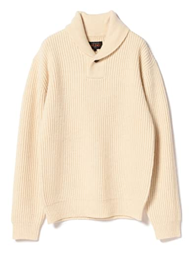 Beams Plus Wool Pullover Shawl Collar Sweater 11-15-0883-103