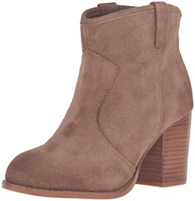 Splendid Women's Spl-Lakota Ankle Bootie, Dark Tan, ...