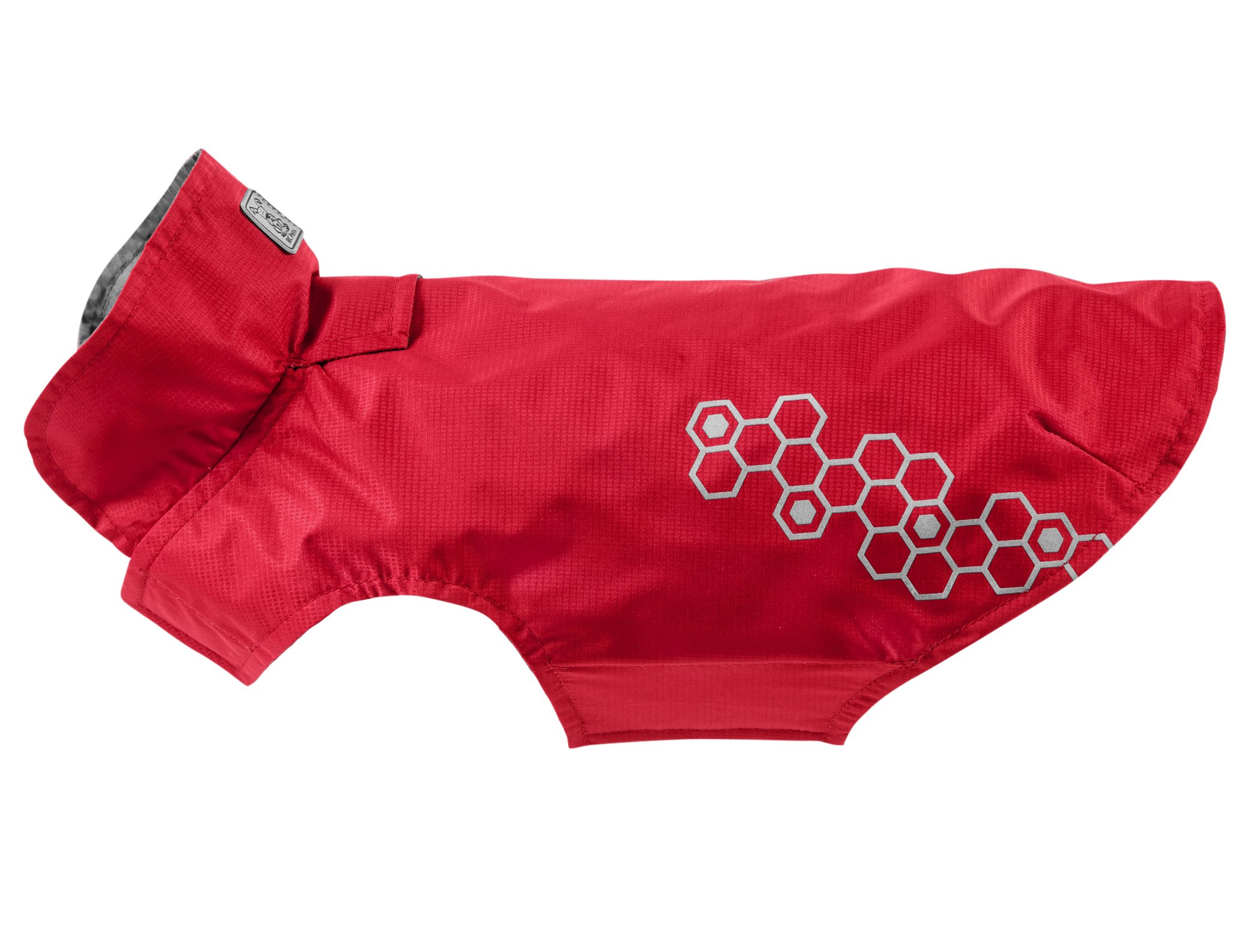 RC Pet Products Venture Shell Reflective, Water Resistant Dog Coat, Size 24, Crimson
