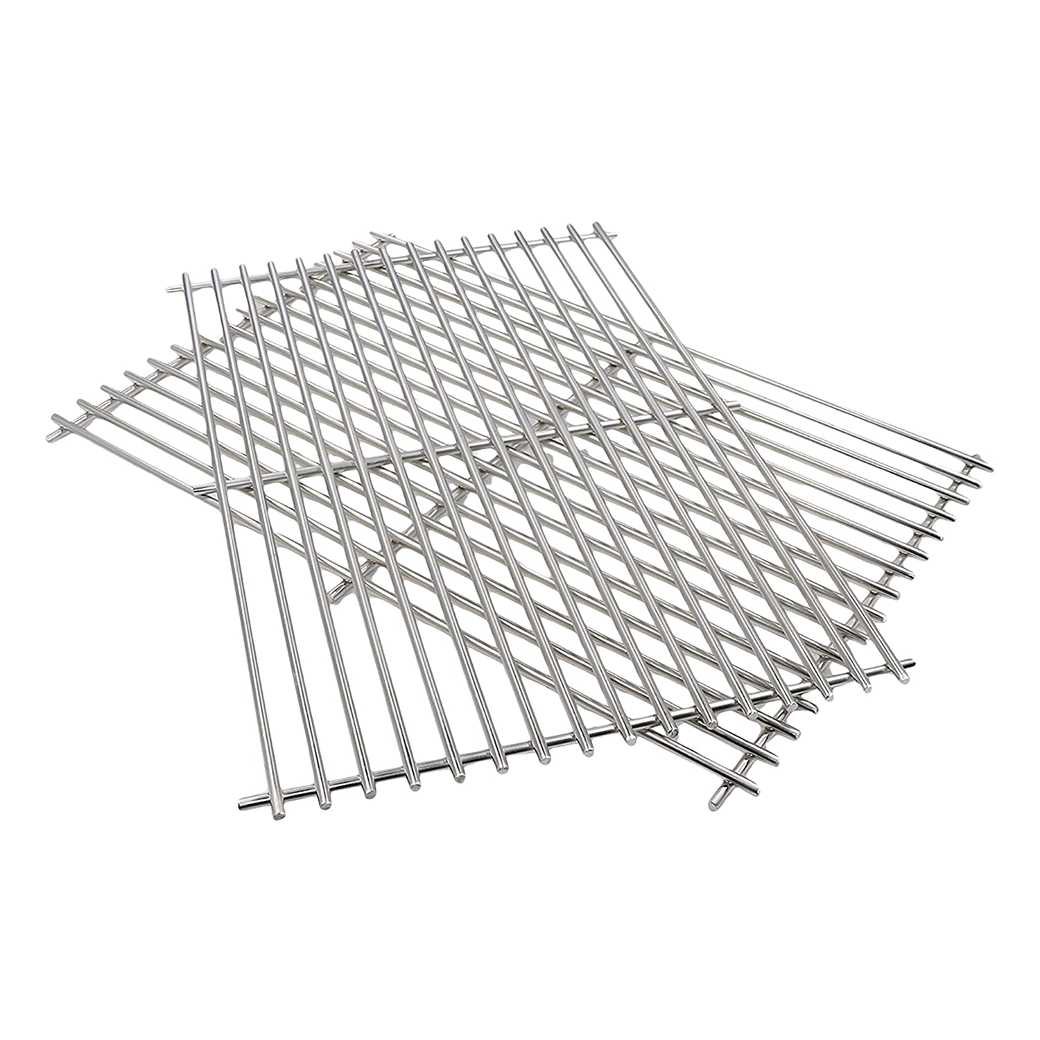 Bar.b.q.s Replacement 52932(set of 2) Stainless Stell Cooking Grid for Centro, Charbroil, Front Avenue, Fiesta, Kenmore, Kirkland, Kmart, Master Chef, and Thermos Gas Grill H5022932SS