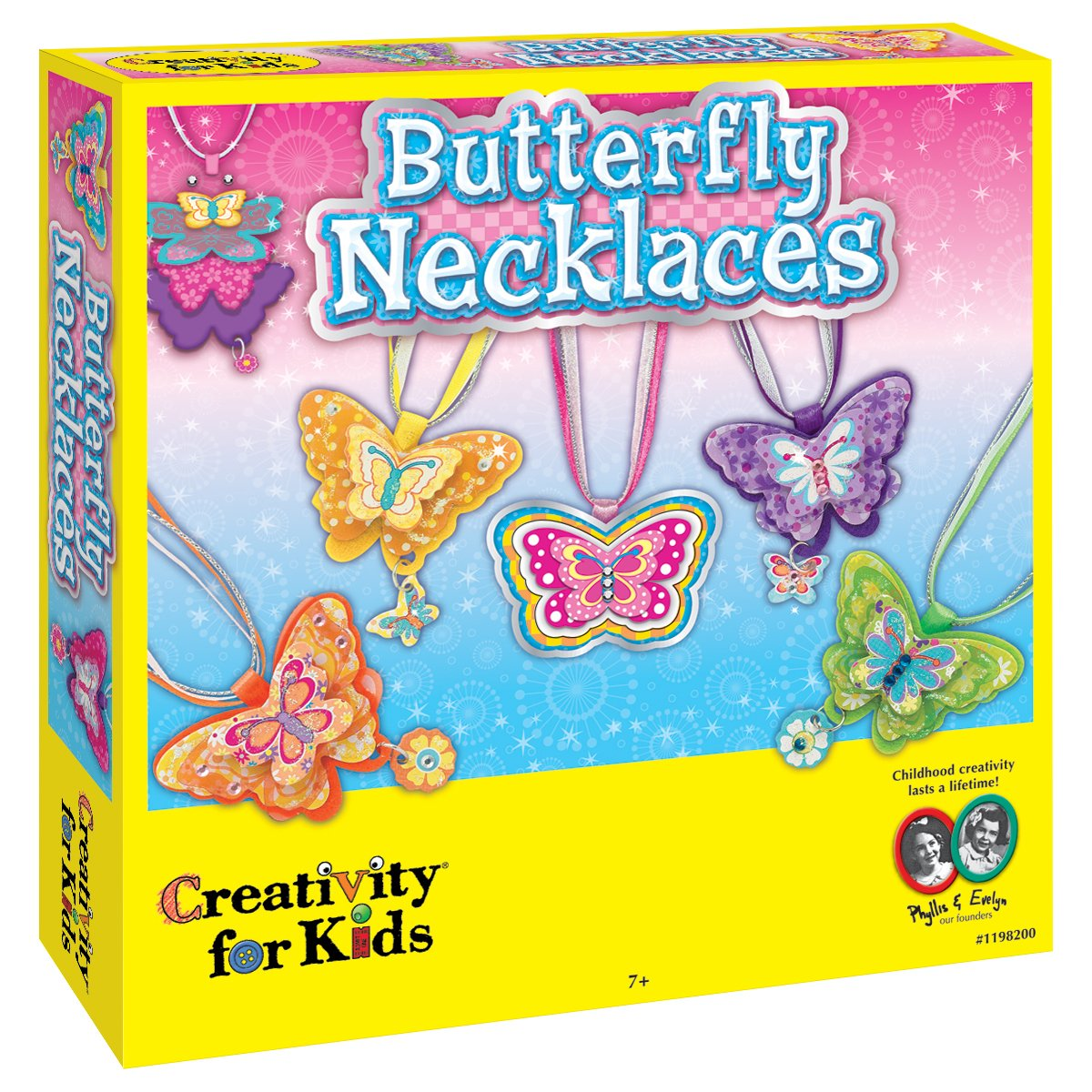 Creativity for Kids Kit Butterfly Necklaces 1198000