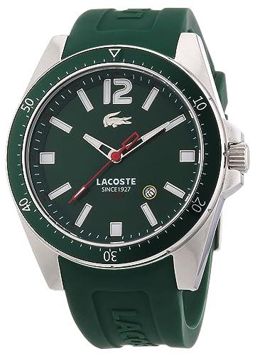 6234544942cc Lacoste 2010663 - Reloj analógico de Cuarzo para Hombre con Correa de  Silicona