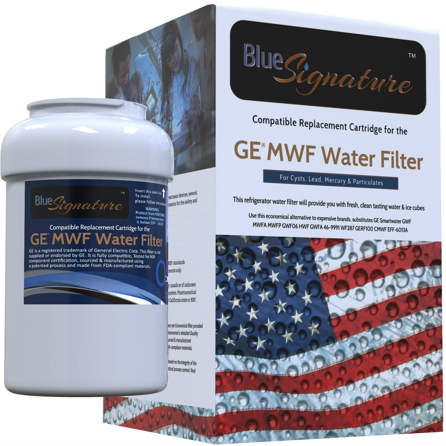 GE MWF SmartWater Water Filter Cartridge from Blue Signature (1)