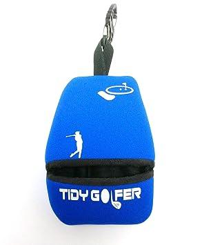 Tidy Golfer (Azul)  - Limpiador de Palos y Pelotas de Golf ...