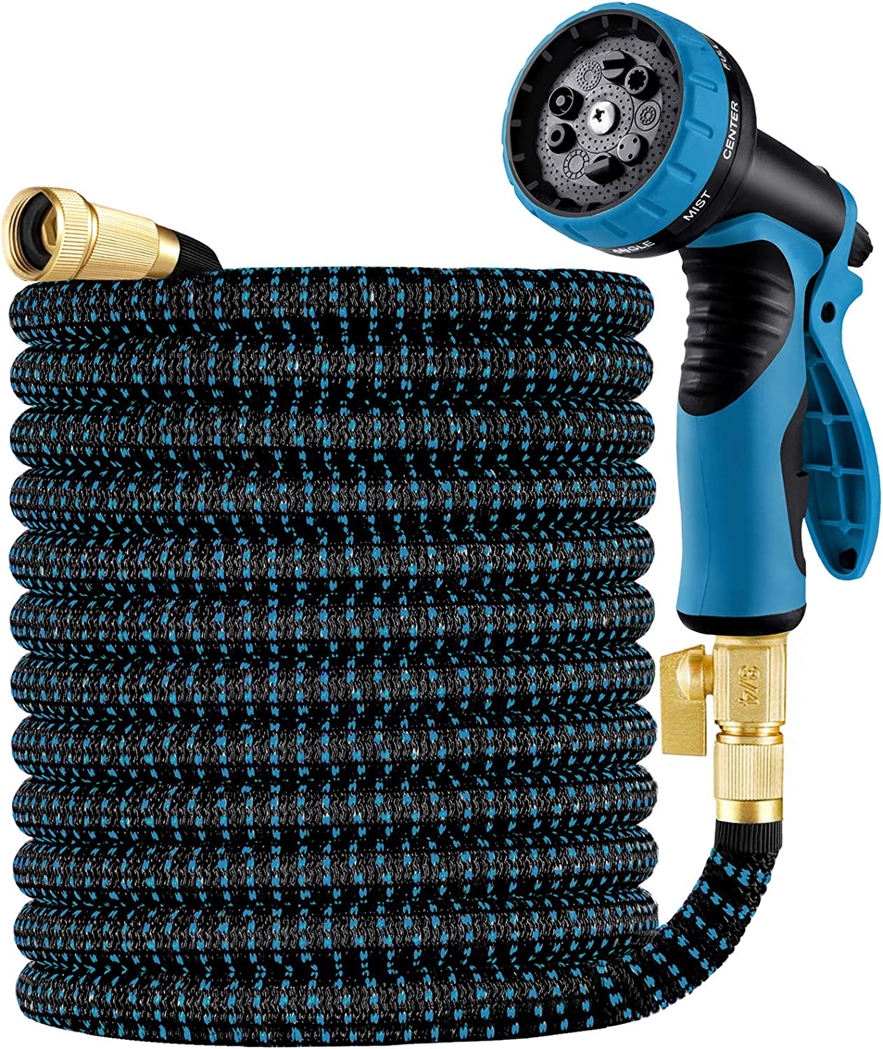 Oyydecor 25ft Garden Hose, Expandable Water Hose with 3/4