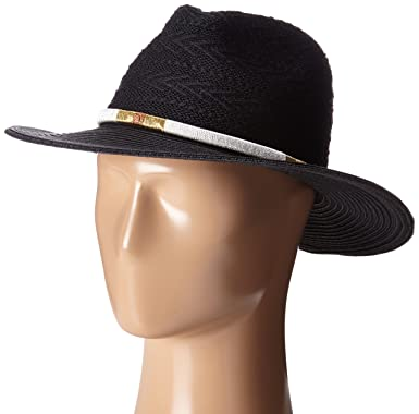 San Diego Hat Company Women s Knit Fedora with Threaded Band bf8be953d105