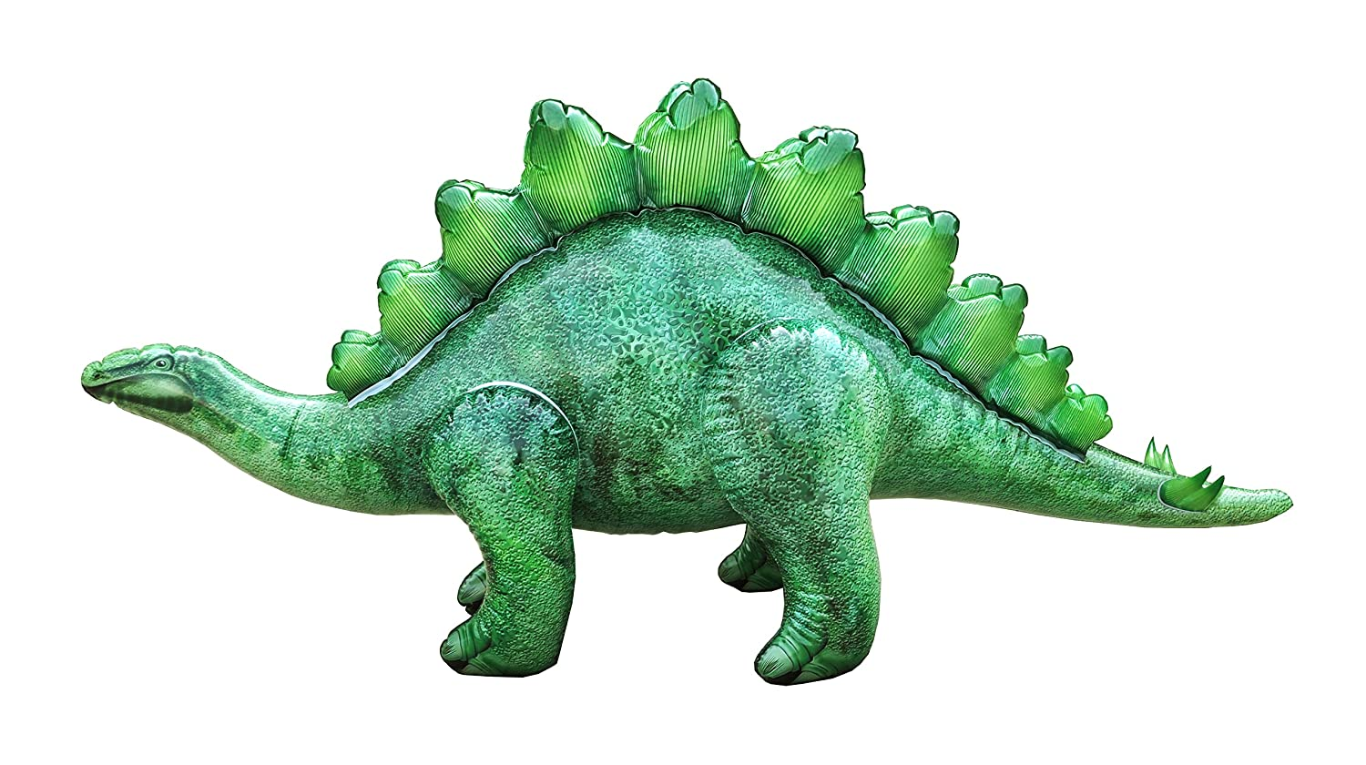 Jet Creations DI-STE8 Inflatable Stegosaurus Dinosaur 46 inch Long- Great for Pool, Party Decoration, Birthday for Kids and Adults