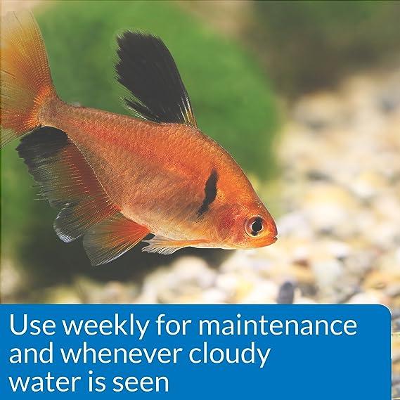 amazon com api accu clear freshwater aquarium water clarifier 8
